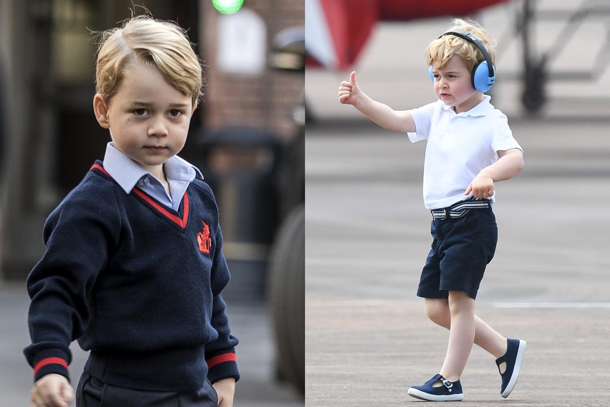 prince george education tennis climbing british royal