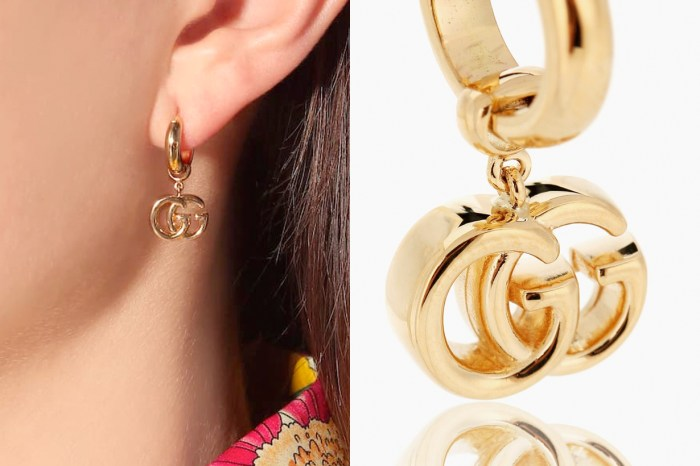 把雙 G Logo 放在耳朵上,Gucci 全新推出的 18K 黃金耳環實在太燒火了!