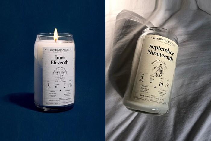 討論度超高:這款「Birthdate Candle」根據生日星座,調配出不同香味和寫上你的個性!