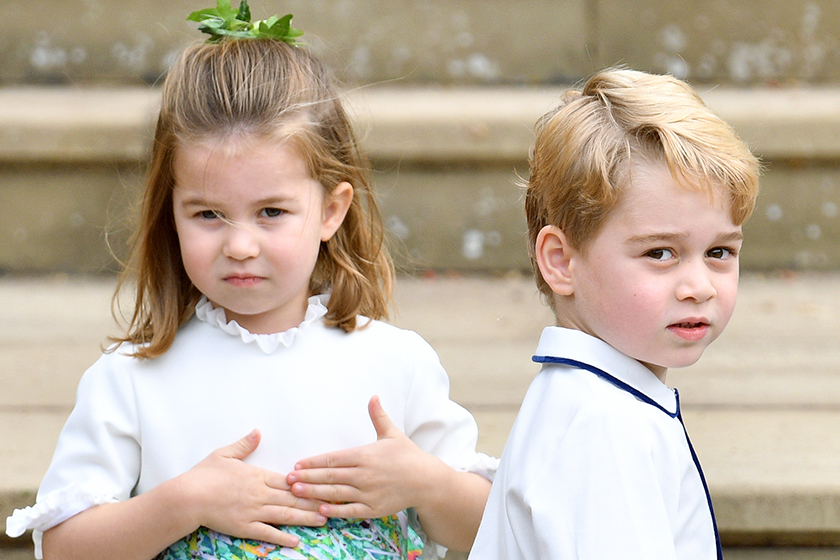 prince George and princess Charlotte first meet archie at This Charity Polo Match