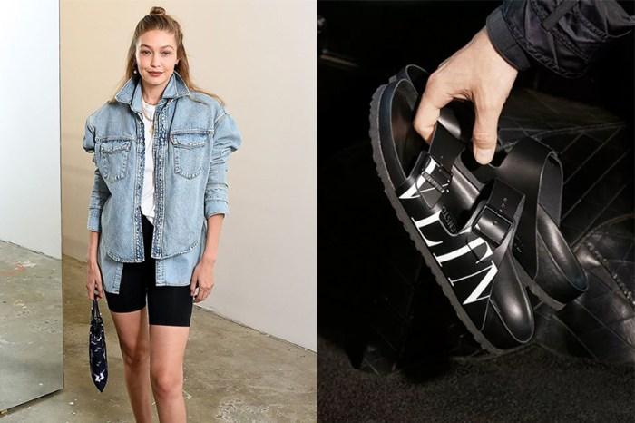 醜與時尚只是一線之差:學 Gigi Hadid 加上這單品,你的 Birkenstock 造型才能趕上潮流!