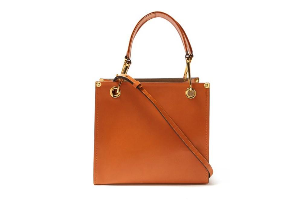 Grip Leather Cross-Body Bag