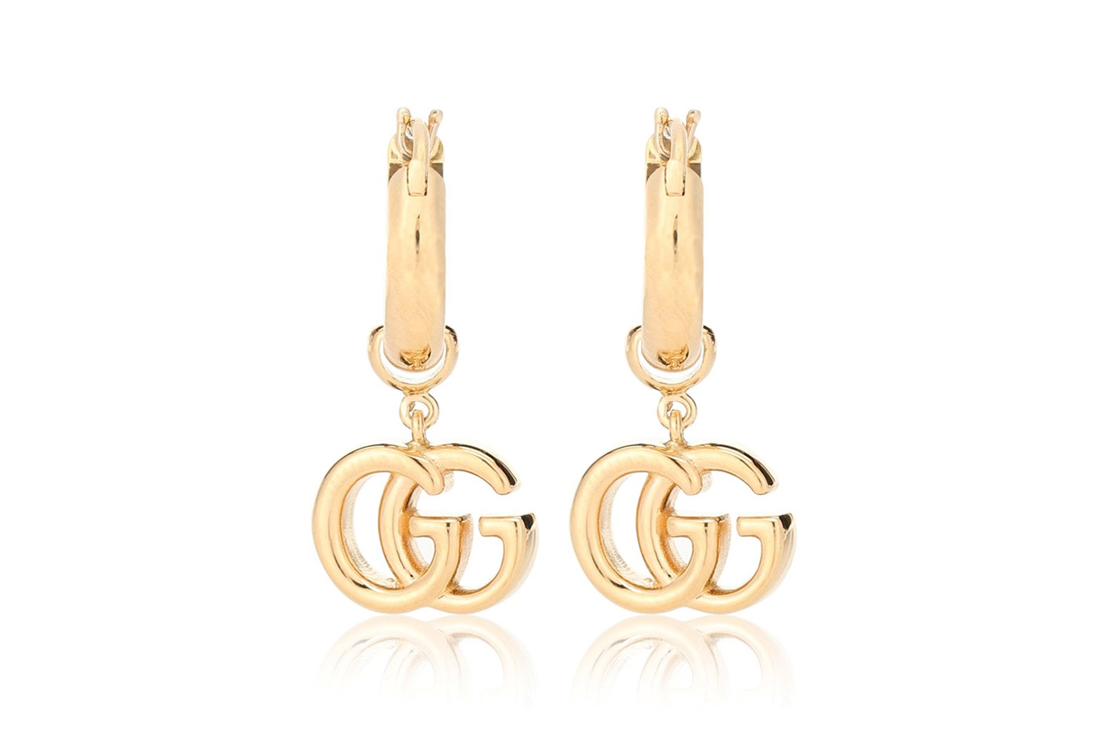 gucci 19 karat gold earring new accessories