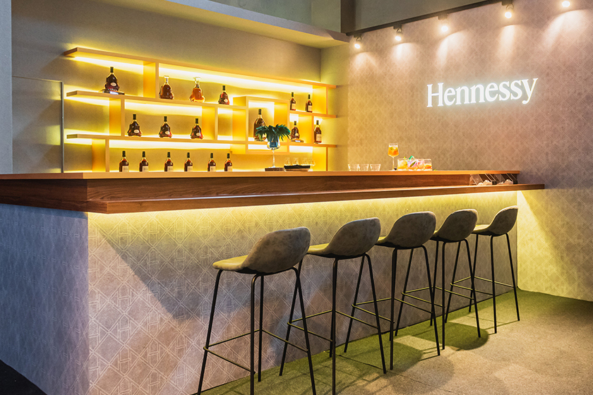hennessy taipei pop up exhibition secret bar