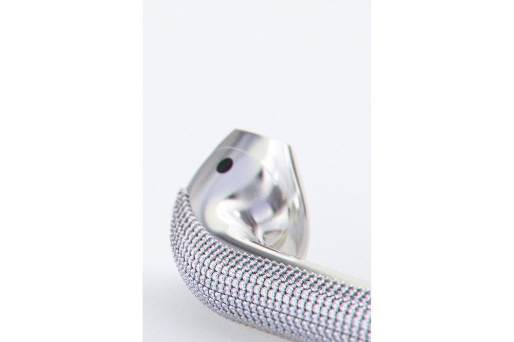 apple airpods custom diamond designer Ian delucca art gold marble
