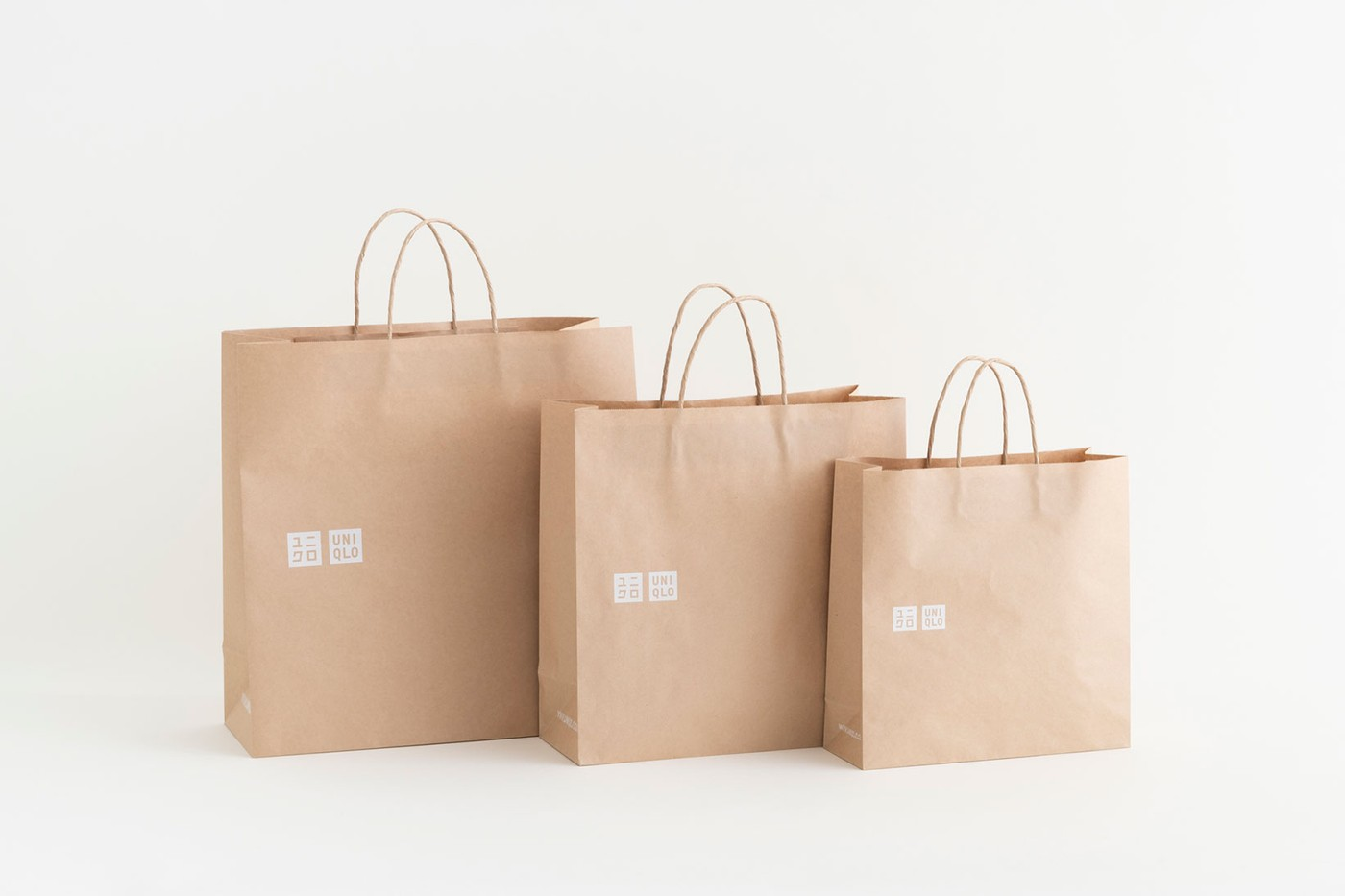 Uniqlo replacing all plastic bags with recycled paper
