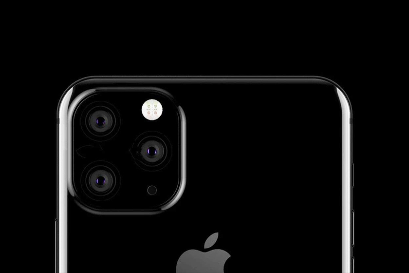 iphone 11 confirm rumor three cameras wide angle smart frame