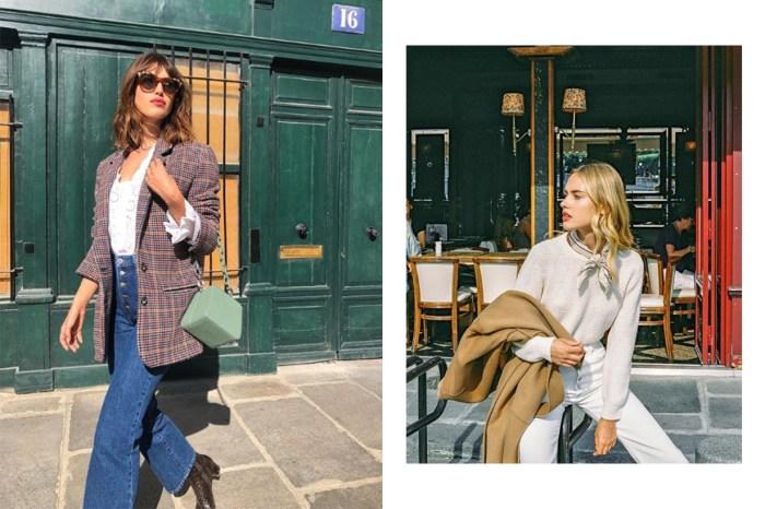 牛仔褲法式穿搭:有了這 4 件單品,就離巴黎女生的風格不遠!