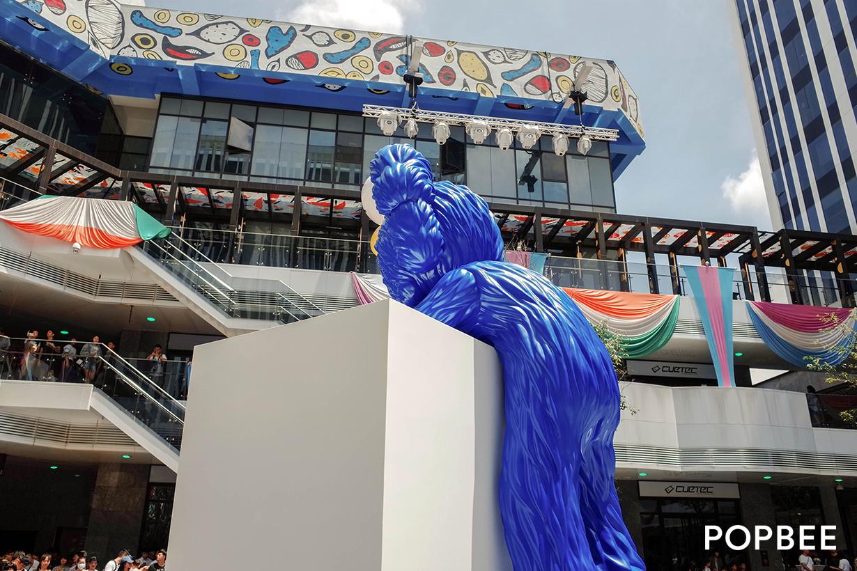 kaws taichung dali art taiwan bff champion