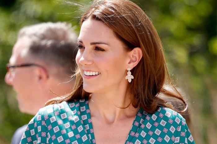 親民王妃無誤:凱特這雙耳環優雅又顯氣質,重點是只需 £8 英磅!