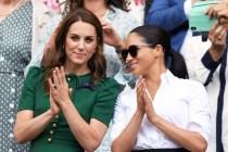 與梅根的關係變好了?網球賽時,凱特原來有這貼心小舉動!