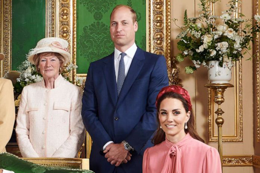 KATE-WILLIAM archie christening FAMILY PHOTO