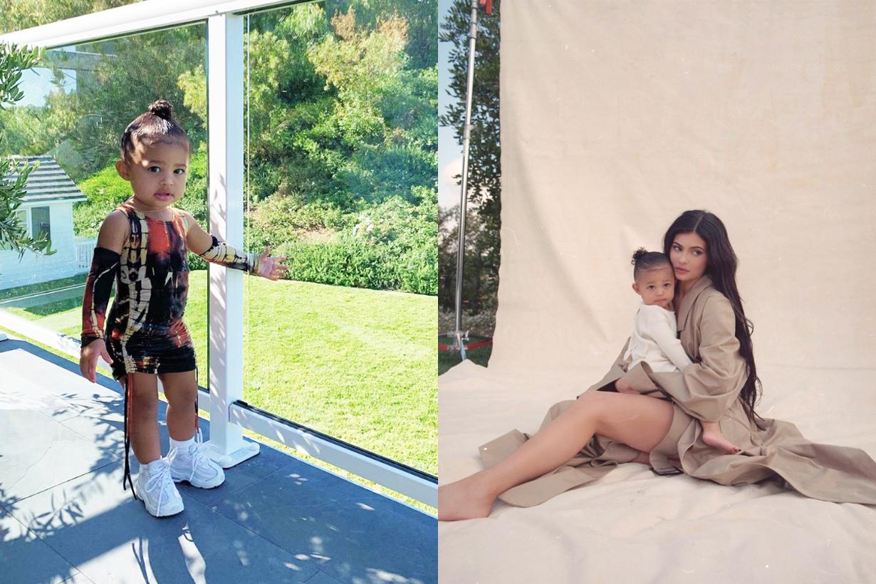 Kylie Jenner Stormi Webster Kris Jenner Kardashian Family Harper's Bazaar Arabia magazine cover parenting hollywood celebrities