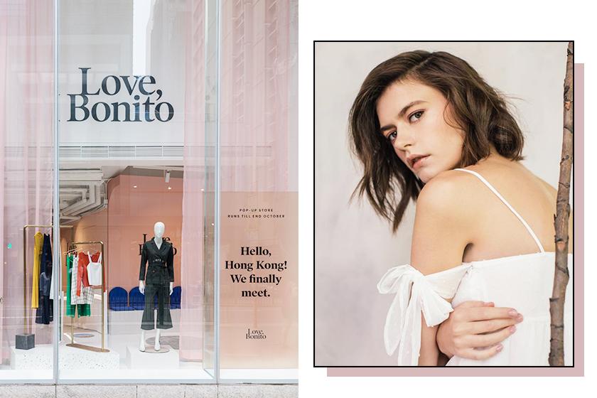 Love, Bonito hong kong central pop up store