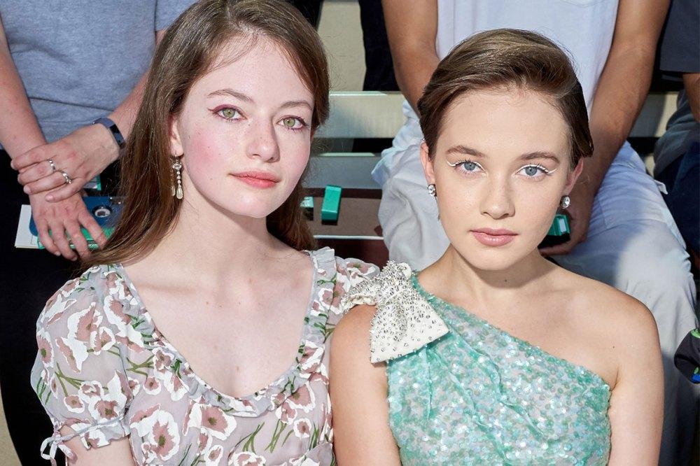 Mackenzie Foy & Cailee Spaeny