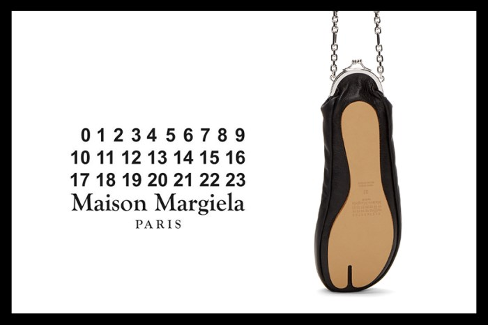 Maison Margiela 招牌「分趾鞋」又有新作,不過今次是一個小手袋!