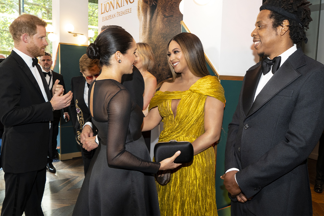 This is what Meghan Markle and Beyoncé spoke about when they met at The Lion King premiere