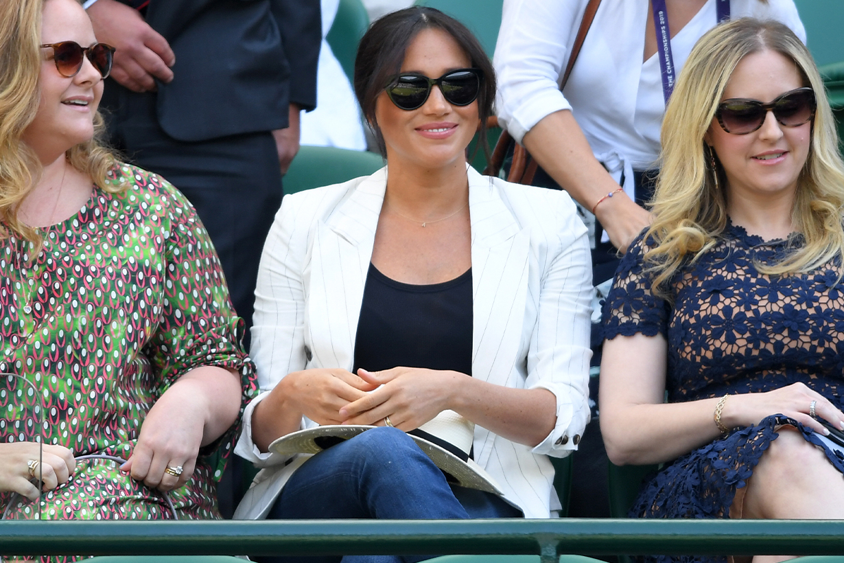 Meghan Markle Wore Jeans to Wimbledon and It Apparently Sparked Controversy