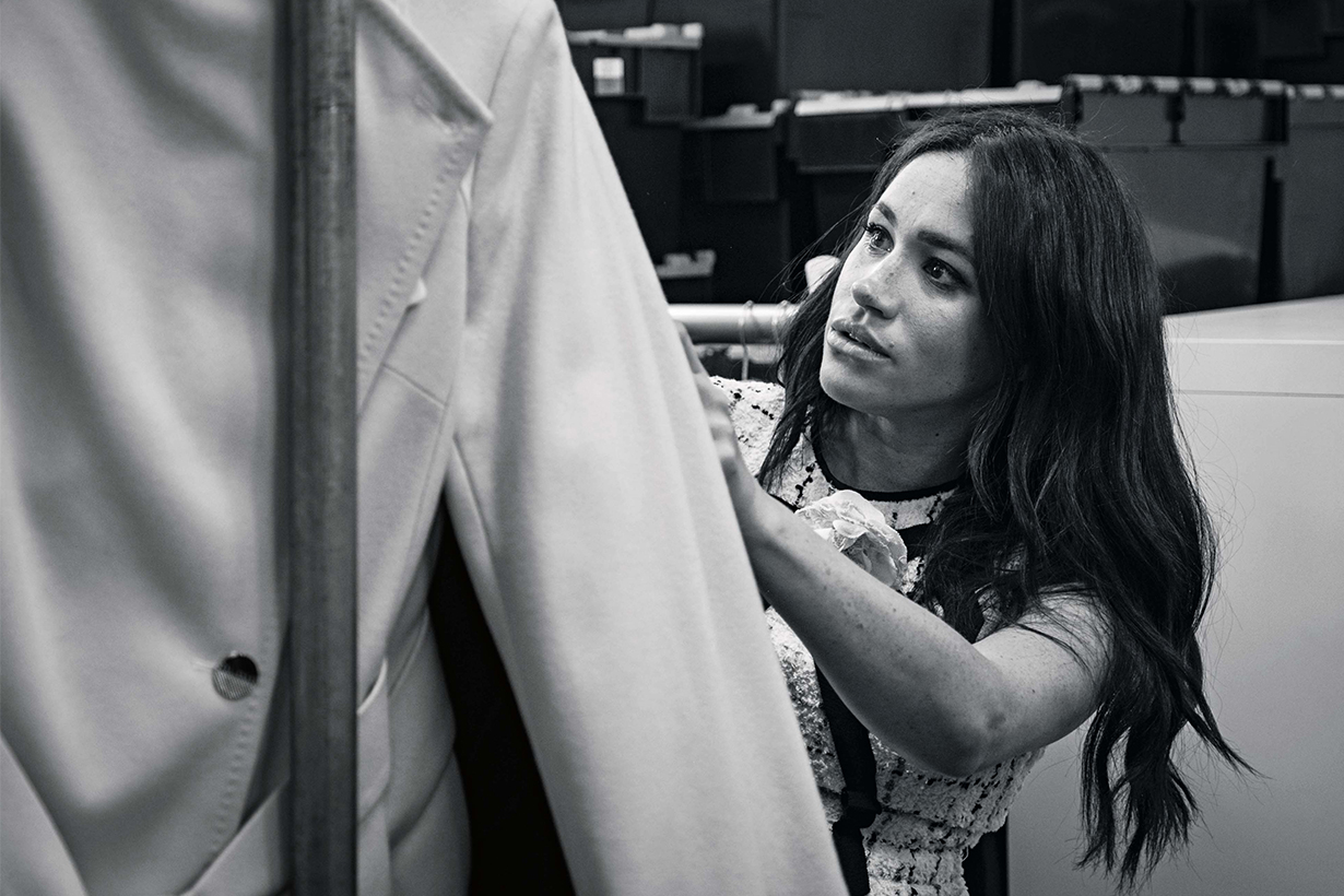 Meghan Markle Duchess of Sussex Takes Charge of British Vogue September Issue
