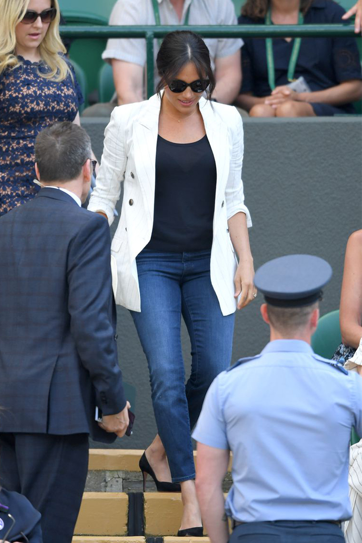 Meghan Markle's Wimbledon outfit included an adorable nod to Archie