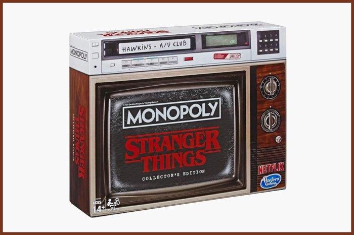 收藏值滿分!《Stranger Things》特別版 Monopoly 重塑劇中精彩亮點
