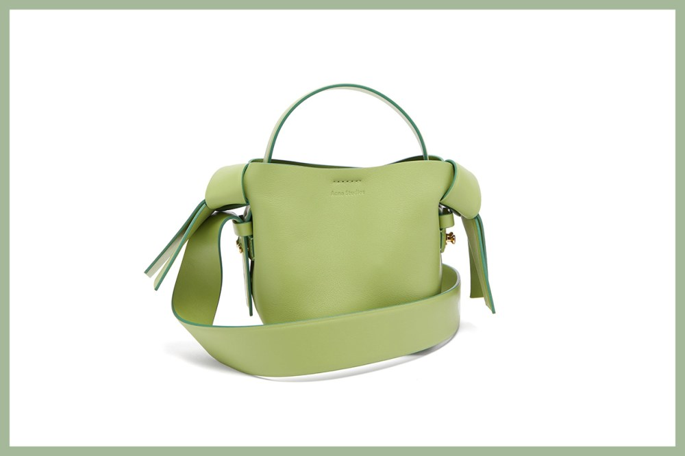 Musubi Micro Leather Cross-Body Bag
