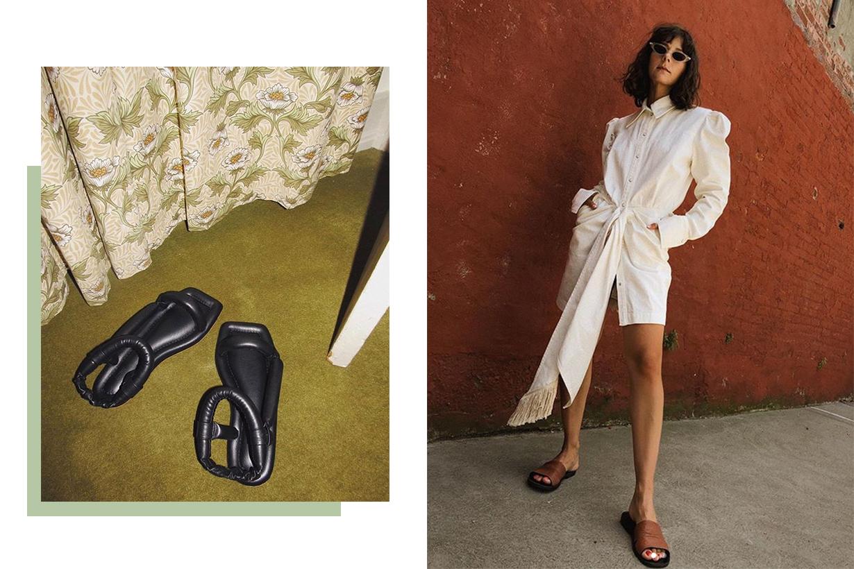 Nanushka Yola Vegan Leather Sandals