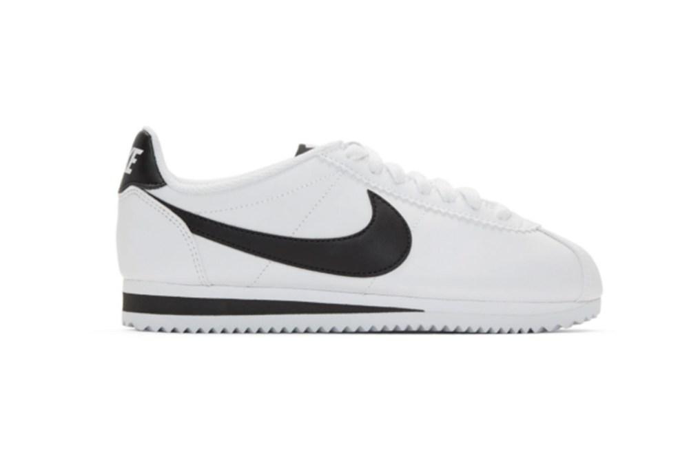 Nike White Classic Cortez Sneakers