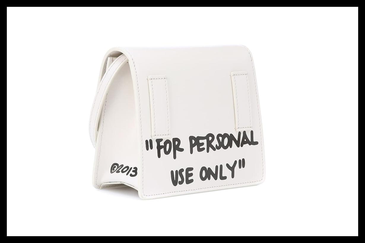 Off-White's Cash Inside Shoulder Bag