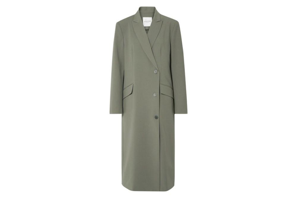 Oversized Woven Coat