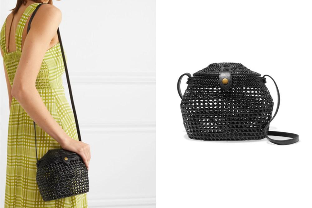 Paloma Woven Shoulder Bag