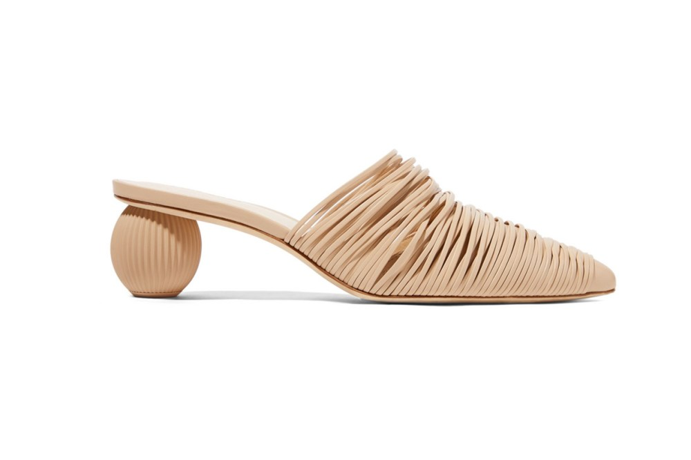 Pia Leather Mules