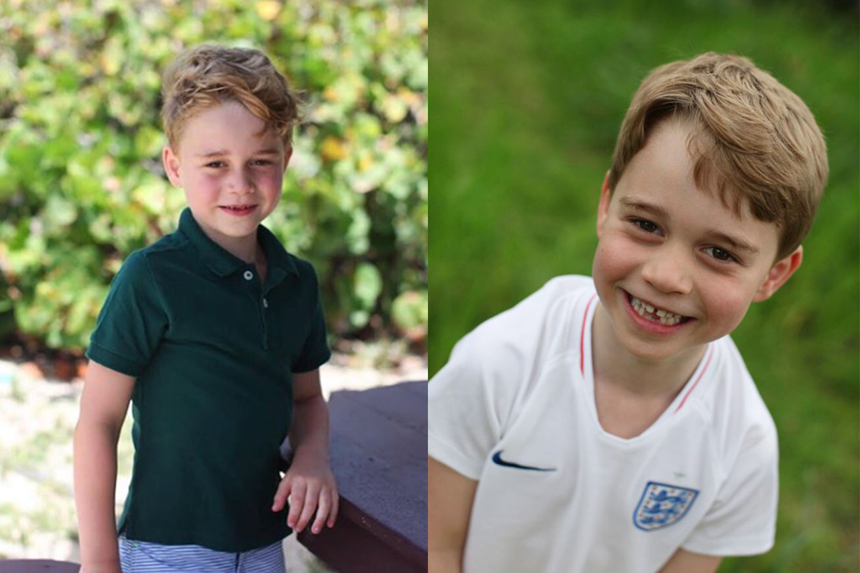 Kate Middleton Shared 3 Adorable New Photos of Prince George for His 6th Birthday