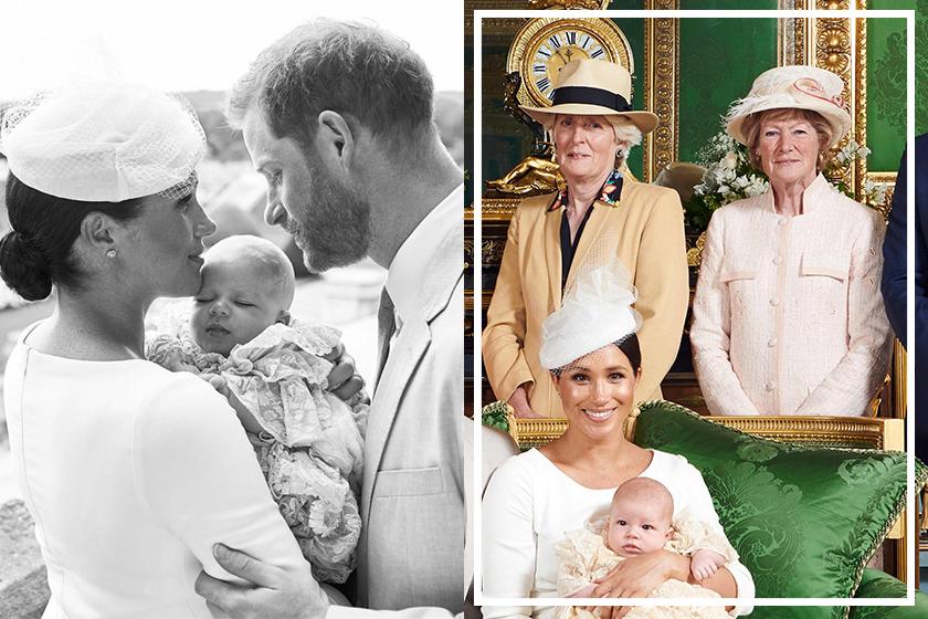 princess diana sister archie christening prince harry meghan markle