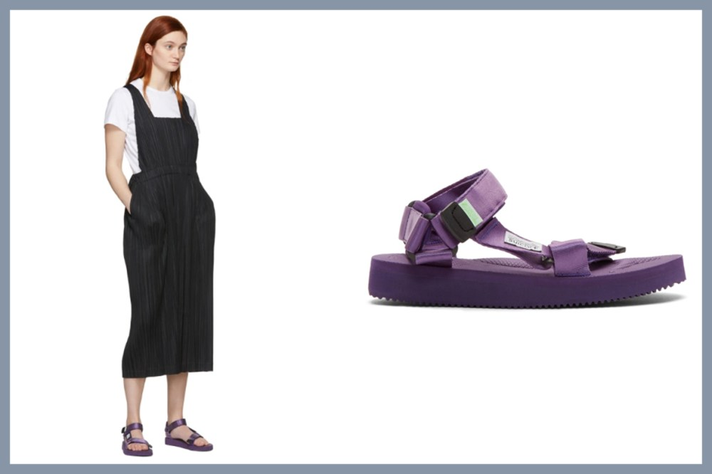 Purple DEPA-Cab Sandals
