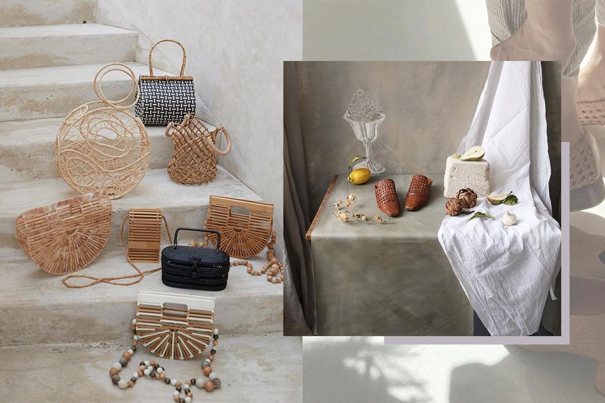 Raffia Shoes & Bags Indie Brands