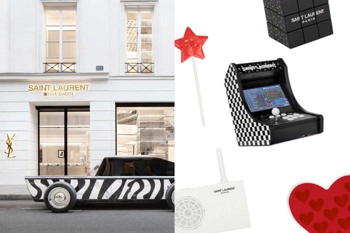 認識 Saint Laurent 的創意支線:棒棒糖、魔術方塊、遊戲機… 每個商品都讓你意想不到!
