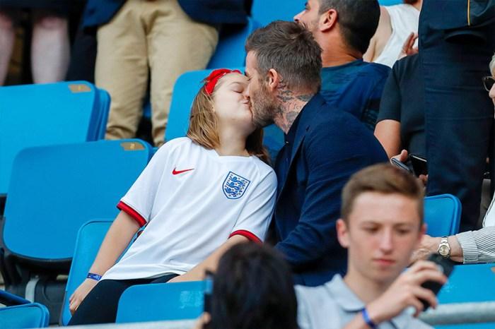 和女兒因為這個動作惹議,David Beckham 不理會:「這就是我們家愛的方式!」