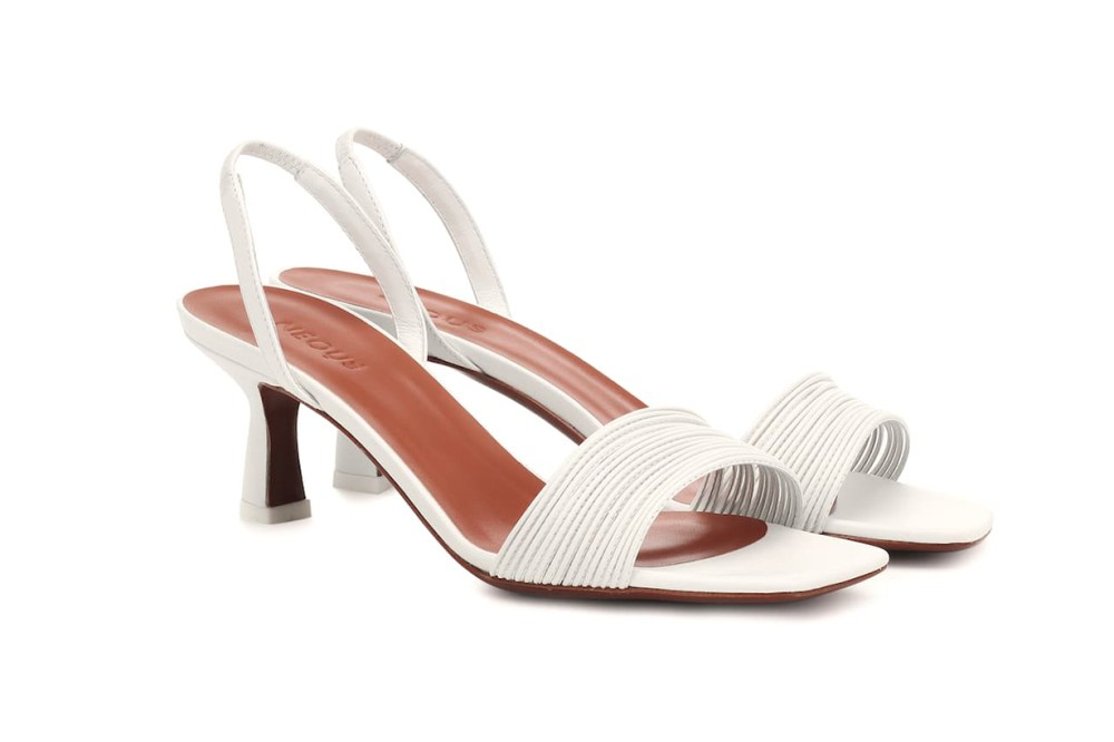Rossi Leather Slingback Sandals