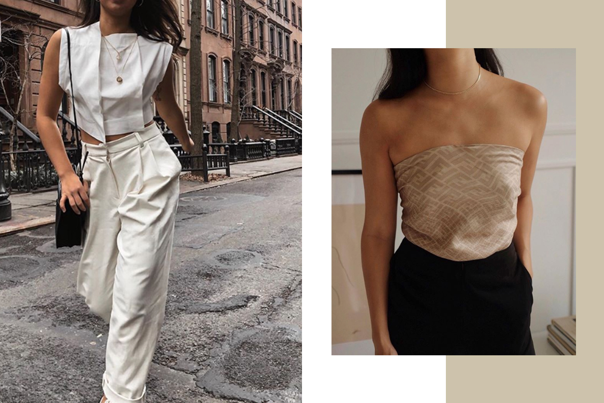 Scarf Top Trend 2019 Summer