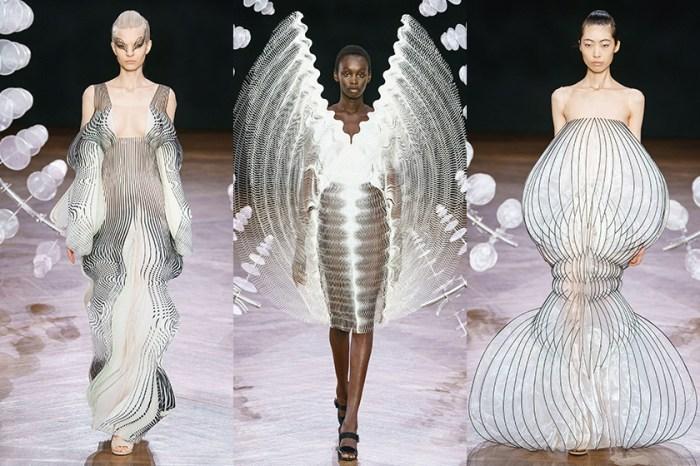 #PFW:Iris van Herpen 設計出會動的裙子,帶來一場如夢似幻的催眠大秀!