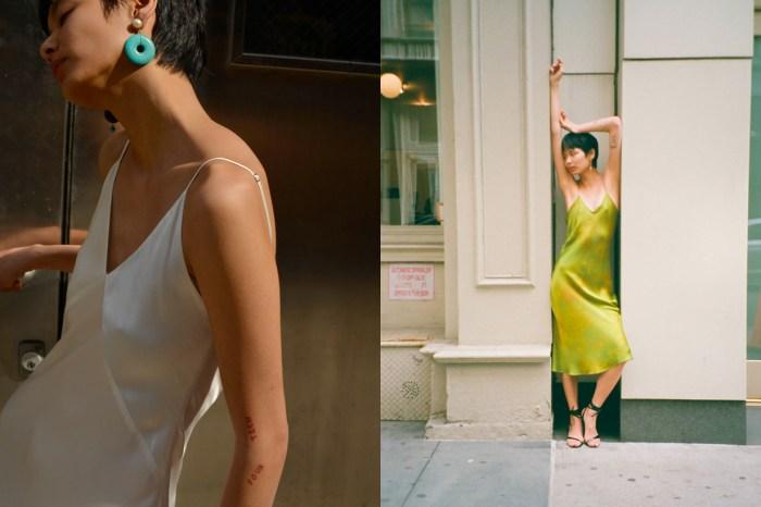 來自小眾品牌仙氣爆燈的 Slip Dress,讓人想穿整個夏天!