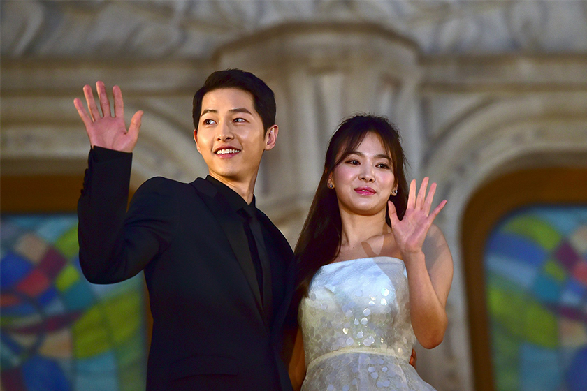 Song Hye kyo first event after divorce song joong ki