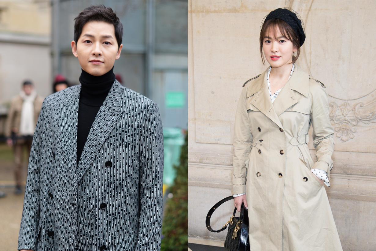 Song Hye Kyo Song Joong Ki Divorce not attending managers wedding k pop korean idols celebrities actors actresses