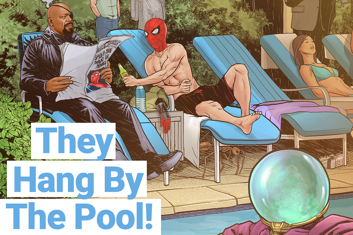 Marvel Spider Man far from home Comic 2019