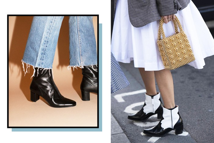 由現在一直流行到秋冬的 No.1 Ankle Boots 已誕生,只要有這個細節馬上變時尚!