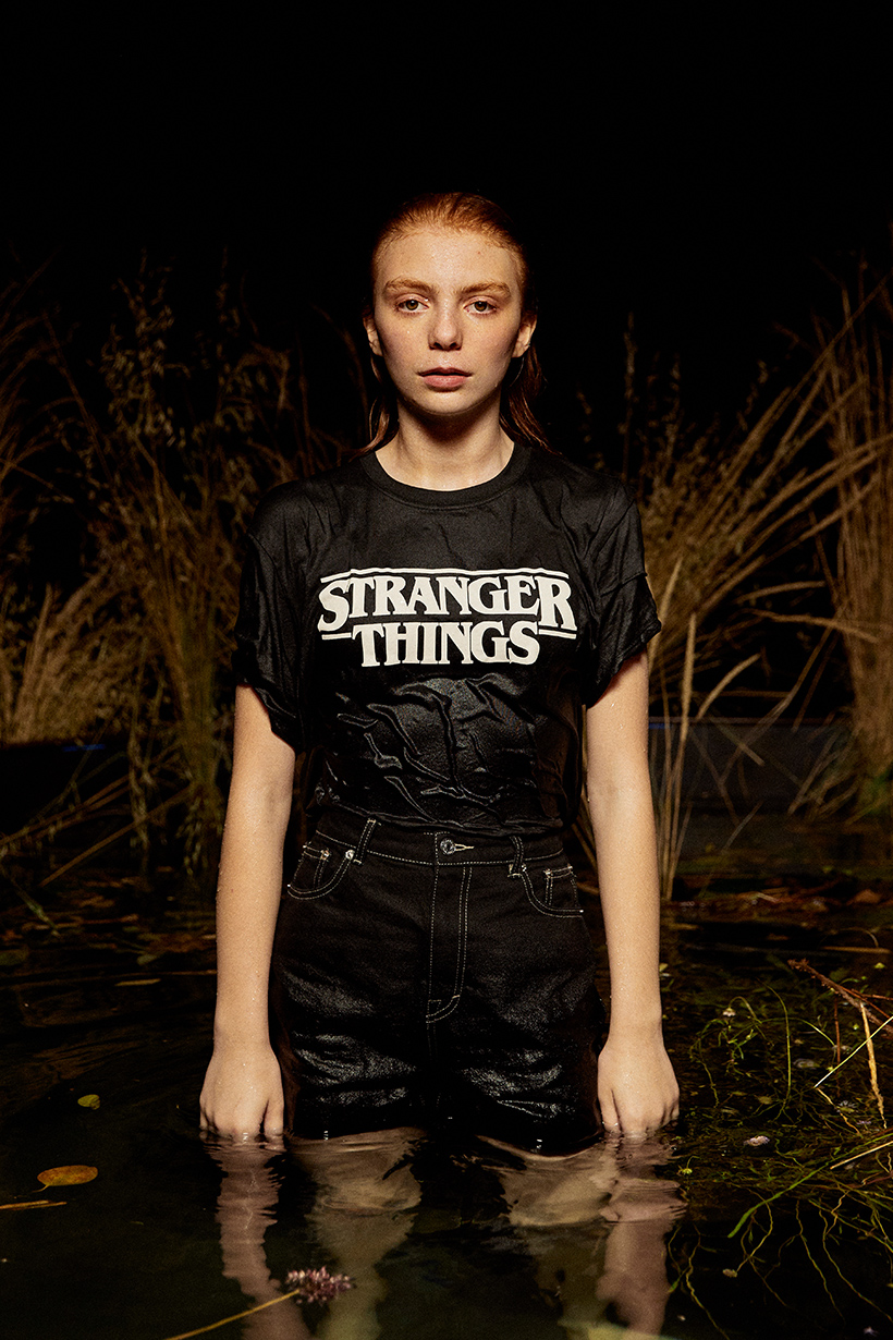 stranger things pull&bear tee shirt price taiwan buy