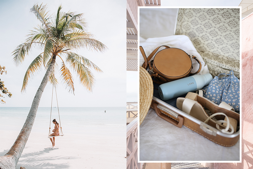 stylist carry on packing travel tips