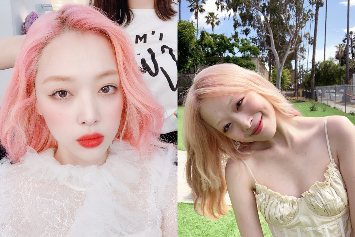 Sulli Choi Jin Ri f(x)  Estée Lauder NightWear Plus 3-Minute Detox Mask celebrities skincare tips k pop korean idols celebrities singers actresses