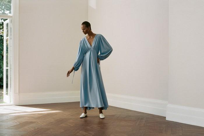 溫柔浪漫的氣質長裙,Net-a-Porter 與 The Row 的這個獨家系列太仙氣了吧!